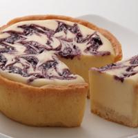ベイクドレアチーズケーキ (ブルーベリー)
