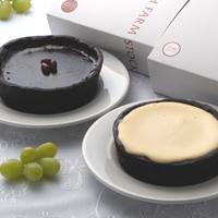 ベイクドレアチーズ&大納言ショコラタルトセット